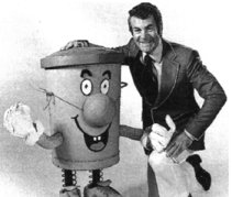 Ted and Dusty Bin